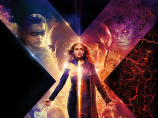 X-Men Dark Phoenix 2019 Movie New Poster wallpaper