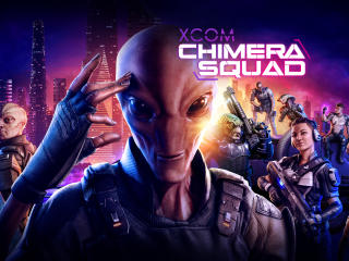 XCOM Chimera Squad Game wallpaper