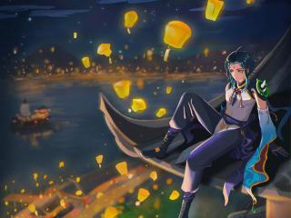 Xiao New Genshin Impact wallpaper