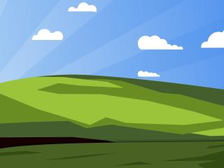 XP Windows Vector wallpaper