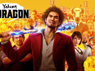 Yakuza Like a Dragon Poster wallpaper