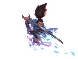 Yasuo Art League Of Legend wallpaper