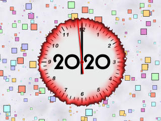 Year 2020 wallpaper