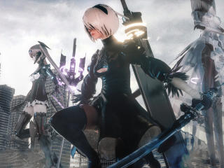 YoRHa No.2 Type B Warrior wallpaper