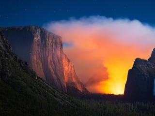 Yosemite National Park Mountains wallpaper