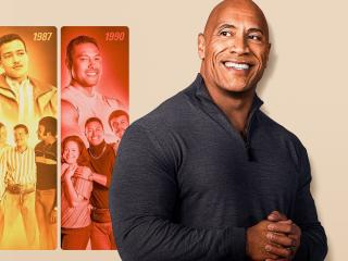 Young Dwayne The Rock Johnson wallpaper