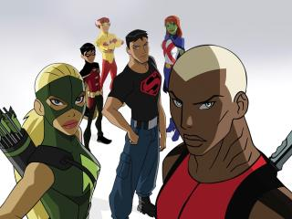 Young Justice Show wallpaper