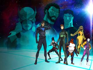 Young Justice Tv Show wallpaper