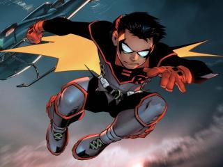 Young Robin DC Comics Art wallpaper