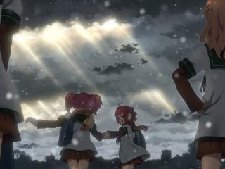 yuru yuri, girls, anime wallpaper