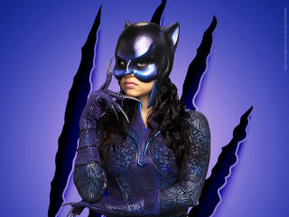 Yvette Monreal as Wildcat wallpaper