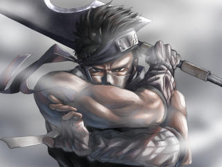 Zabuza Momochi Art wallpaper