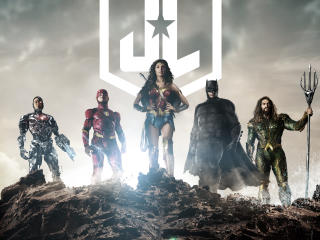 Zack Snyder's Justice League Poster FanArt wallpaper