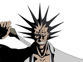 Zaraki Kenpachi Bleach Anime wallpaper