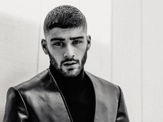Zayn Malik 2018 Monochrome wallpaper