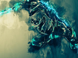 Zed Art League Of Legends wallpaper