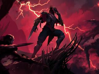 Zed in Legends of Runeterra wallpaper