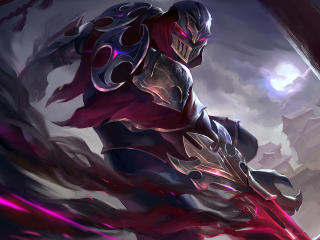 Zed League Of Legends Digital wallpaper