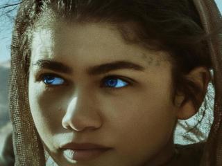 Zendaya Dune Movie 2021 4K wallpaper