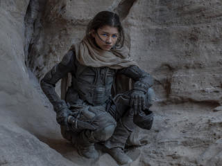 Zendaya Dune Movie wallpaper