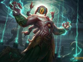 Zeus Cool Smite Gaming wallpaper