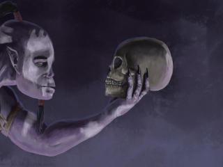 HD Wallpaper | Background Image zharvakko, witch doctor, dota 2