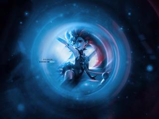 Zoe 4K League of Legends wallpaper