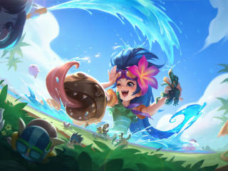 Zoe in League of Legends wallpaper