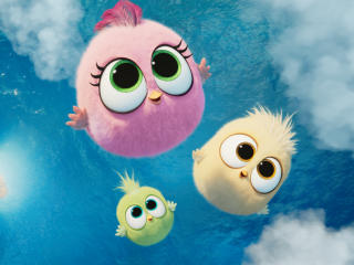 Zoe, Vivi, and Sam-Sam in Angry Birds 2 wallpaper
