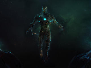 Zombie Iron Man in Spider-Man wallpaper