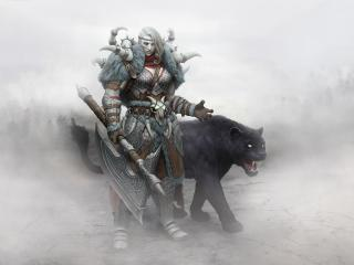 Zombie Viking Warrior wallpaper
