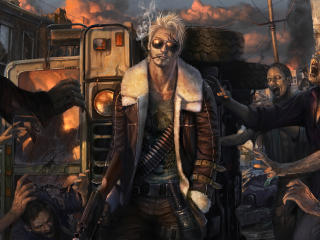 Zombie Warrior wallpaper