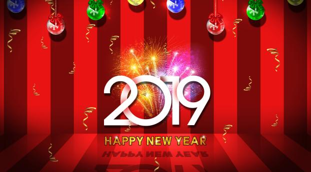 HD Wallpaper | Background Image 2019 Happy New Year