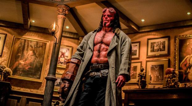 HD Wallpaper | Background Image 2019 Hellboy Movie