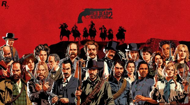 HD Wallpaper | Background Image 2019 Red Dead Redemption 2 Game