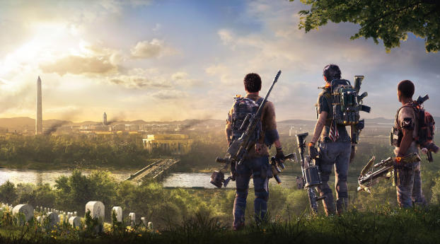 HD Wallpaper | Background Image 2019 The Division 2 Game
