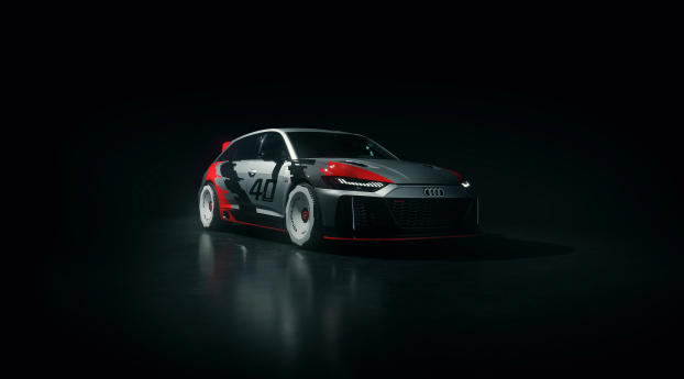 2020 Audi RS6 GTO Style Wallpaper