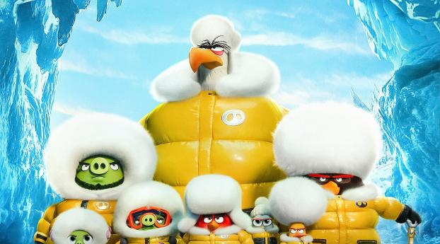 HD Wallpaper   Background Image 4k Angry Birds Movie 2
