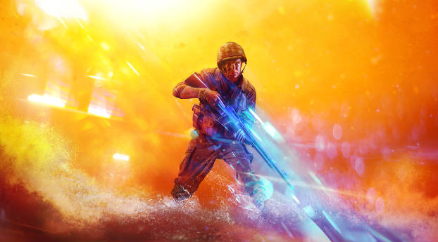 HD Wallpaper | Background Image 4K Battlefield 5 2019