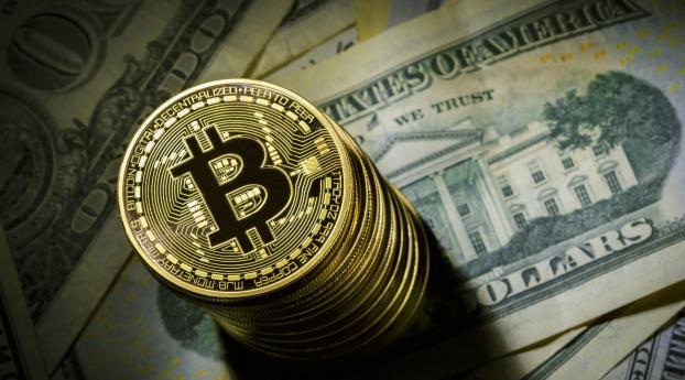 HD Wallpaper | Background Image 4K Bitcoin
