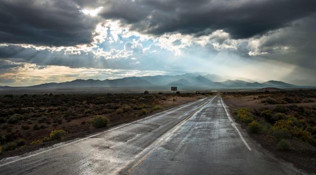 HD Wallpaper | Background Image 4K Empty Road