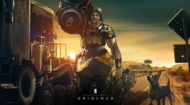 HD Wallpaper | Background Image 4K Gridlock Rainbow 6 Siege