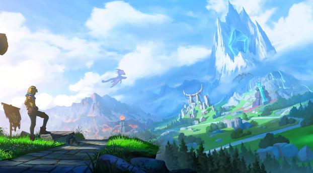 HD Wallpaper | Background Image 4K League Of Legends 2020