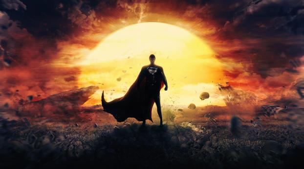 HD Wallpaper | Background Image 4K Man Of Steel Superman