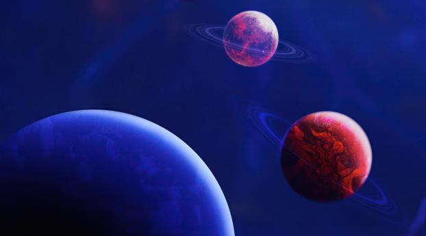 4K Planet Meet Wallpaper 480x854 Resolution