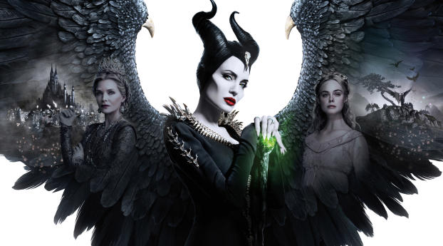 HD Wallpaper | Background Image 4K Poster Of Maleficent 2