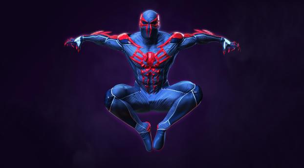 4k Spider Man Costume 2020 Digital Wallpaper
