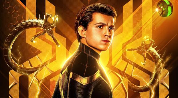 4K Superhero Spider-Man No Way Home Wallpaper