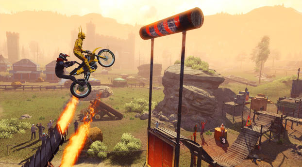 HD Wallpaper | Background Image 4k Trials Rising 2019