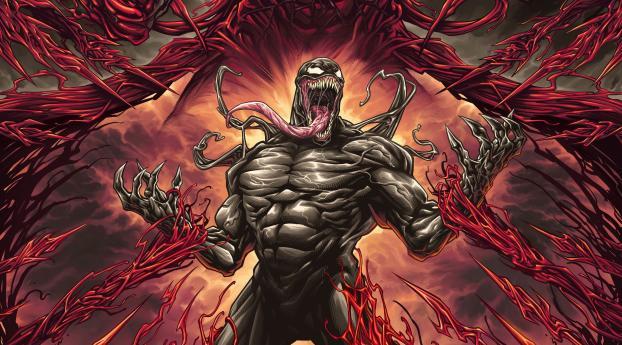 4K Venom 2 Cool HD Movie Wallpaper